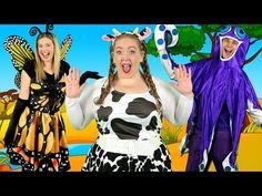 """Alphabet Animals"" - ABC Animals Song for Kids Abc Song For Kids, Rhymes For Kids, Alphabet For Kids, Music For Kids, Kids Songs, Baby Animals Songs, Baby Animal Names, Abc Songs, Alphabet Songs"