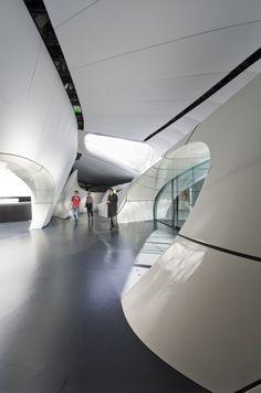 Chanel Mobile Art Pavilion. Design by  Zaha Hadid Architects.