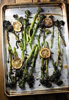 Broccolini with Tahini and Lemon Is the Side Dish You Need Right Now
