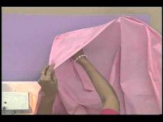 Sonia Franco.Programa Nuestra Casa. Elaboración de Sabanas individuales esquinera o cajón sin elástico 3/3 YouTube