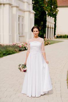 méretre készített menyasszonyi ruha by ticci rockabilly clothing Bridesmaid Dresses, Wedding Dresses, Rockabilly, White Dress, Fashion, Bridesmade Dresses, Bride Dresses, Moda, Bridal Gowns