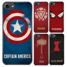 Marvel Comics Vingadores Spider-man Thor Estojo rígido Capa para Iphone 6 7 8 X Xr Xs Avengers Comics, Chicago Cubs Logo, Iphone 4, Thor, Captain America, Cover, Avengers, Mantle, Avengers Comic Books
