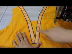 KURTA/KURTI NECK PATTERN . कुर्ते के गले की अलग डिज़ाइन - YouTube