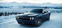 Dodge Challenger un tanto especial, un Dodge Challenger GT equipado con un sistema de tracción total