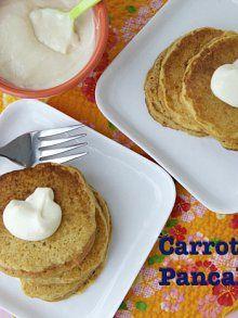 Easy Carrot Cake Pancakes for Easter Breakfast