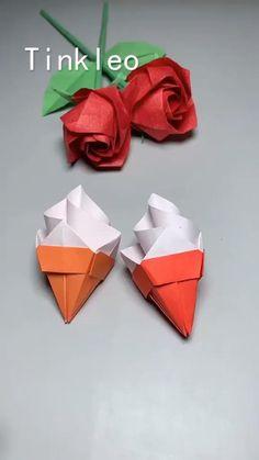 Paper Crafts Origami, Paper Crafts For Kids, Cardboard Crafts, Diy Paper, Diy For Kids, Diy Crafts Hacks, Diy Crafts For Gifts, Fun Crafts, Easy Christmas Crafts