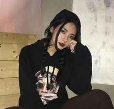 Korean Ulzzang, Ulzzang Girl, Korean Girl, Asian Girl, Tomboy Girl, Estilo Grunge, Asian Cute, Grunge Fashion, Korean Fashion
