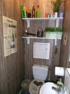 1000 images about toilettes cr atives on pinterest toilets toilet paper r - Deco toilettes nature ...