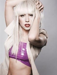 This is Lady Gaga, Right? Hard to recognize her without the meat dress or some such thing!