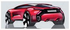 Car Design Sketch, Car Sketch, Transportation Design, Zine, Concept Cars, Motor Car, Cars And Motorcycles, Exterior Design, Industrial Design