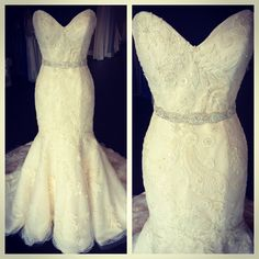 Stunning Gown At White Weddings