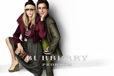 Burberry Spring/Summer 2012 Campaign featring Cara Delevingne and Eddie Redmayne