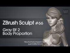 Zbrush Sculpting - Gray Elf 02