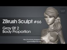 Zbrush Sculpting - Gray Elf 02