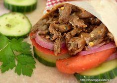 Χορτοφαγικός γύρος Tacos, Mexican, Ethnic Recipes, Food, Essen, Meals, Yemek, Mexicans, Eten