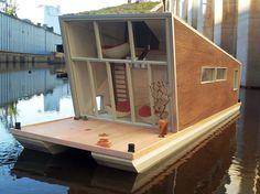 Tiny house boat.