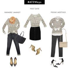 #AT3WAYS: Marled V-Neck Sweater (via Bloglovin.com )
