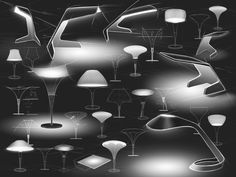 Executive Lamps (work in progress) on Industrial Design Served