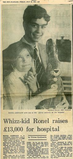Back in 1981, a 17-year-old pupil at the City of London School smashed his own fundraising targets and raised £13,000 for Great Ormond Street Hospital Children's Charity. 30 years on, the school is celebrating their incredible fundraising yet again... http://blog.gosh.org/our-charity/30-years-of-inspiring-fundraising-at-the-city-of-london-school/