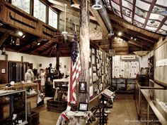 """COLMAN MUSEUM - In 1976, Lois Colman, granddaughter of D.B. Colman, canyon pioneer, realized her dream of preserving the history of Butte Creek Canyon came true, with the opening of the Colman Memorial Community Museum. The museum was financed with the profits of her book """"Tailings of Butte Creek Canyon""""."""