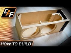"Massive Subwoofer, Massive Ported Box (Build) Rockford Fosgate Power T3 19"" Plexi Window VIDEO 1 - YouTube"