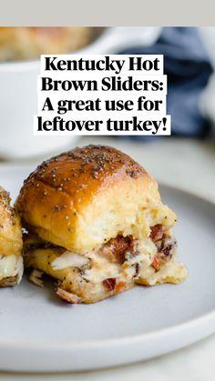 Thanksgiving Leftovers, Thanksgiving Recipes, Appetizer Recipes, Dinner Recipes, Meat Appetizers, Game Day Recipes, Sandwich Appetizers, Steak Sandwich Recipes, Family Recipes