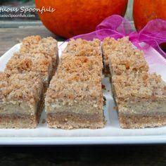 Crumb-topped Pumpkin Cheesecake Bars