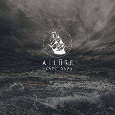 """Album cover for Allure's debut album """"Heavy Seas."""""""