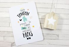 Baby Reveal Announcement Idea - Baby Wood Sign - Rustic Baby Pregnancy - New Parents to be - Baby Reveal Wooden Sign with Holder and Picture Ultrasound Space Informationen zu Baby Announcement Wood Si Wishes For Baby, Postcard Design, Rustic Baby, First Baby, Postcard Size, Baby Love, Paper Design, Announcement, New Baby Products