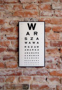 tablica W A R S Z A W A