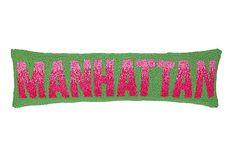 Manhattan Hook Pillow Wool/Cotton Poly fill Hidden zipper Plain solid back Dimensions: x Item number: Coastal Style, Coastal Decor, Pillow Inspiration, Nautical Home, Cotton Velvet, Cotton Pillow, Manhattan, Unique Gifts, Collection