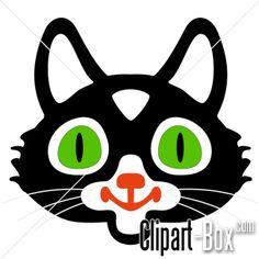 CLIPART CAT'S FACE