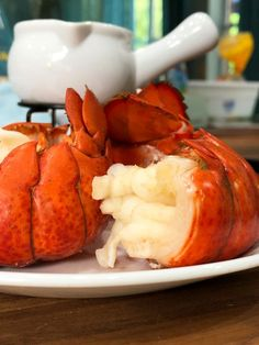 Learn to cook lobster tail in the Instant Pot and get perfectly steamed lobster with the sweetest, tender, and juicy lobster meat. Lobster Tail Recipe Steamed, Steamed Lobster, Shrimp And Lobster, Lobster Dinner, Fresh Lobster, Cooking Lobster Tails, How To Cook Lobster, Lobster Recipes
