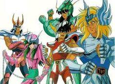 Resultado de imagem para cavaleiros do zodiaco