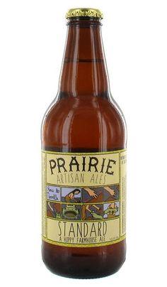 Cerveja Prairie Standard, estilo Saison / Farmhouse, produzida por Prairie Artisan Ales, Estados Unidos. 5.2% ABV de álcool.