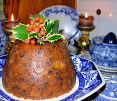 The Old Manor House Traditional Victorian Christmas Pudding. Photo by French Tart