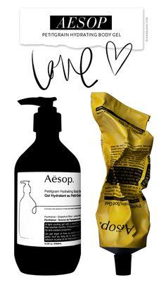 Aesop Petitgrain Hydrating Body Gel