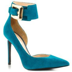 AwesomeNice Guess Shoes Adal - Med Blue Suede