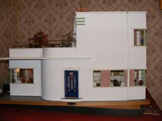Art Deco Dollhouse. Even The Children Of The Era Had Good Taste
