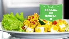 Quinoa é um cereal completo! Saiba como preparar uma deliciosa salada desse cereal!