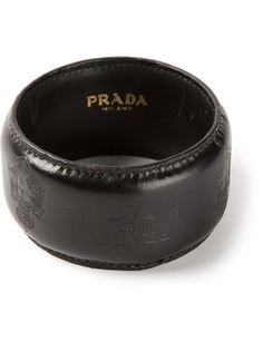 PRADA VINTAGE Leather Bracelet