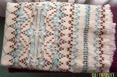 Swedish Weaving Club: Swedish Weaving Afghan