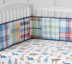 Salty Dog Crib Fitted Sheet #pbkids