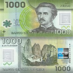 Chile Pesos banknotes for sale. Dealer of quality collectible world banknotes, fun notes and banknote accessories serving collectors around the world. Over 5000 world banknotes for sale listed with scans and images online. Chile, Fun Facts For Kids, Folding Money, Vintage World Maps, Sonia Sotomayor, International Festival, Summer Camps, Banknote, Carrera