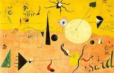 Joan Miro - Paysage catalan (1923-24)