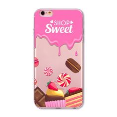 Rainbow Color Food Donuts Macaron Phone Cases For iphone 6 6S 5 5S SE 5C 6Plus 6SPlus 4 4S Silicone Case Cover For iphone 6 Case-in Phone Bags & Cases from Phones & Telecommunications on Aliexpress.com | Alibaba Group