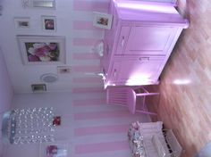 The Pink living room