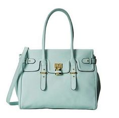 Aldo DEMMAN Baby Blue Bag Aldo demman bag in light baby blue color with gold details and lock. In like new, excellent condition. Only used once. Has 3 separate compartments to keep you organized. Long shoulder strap included. Great size! Culd be used as diaper bag! ALDO Bags