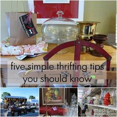 5 Simple Must-Know Thrifting Tips