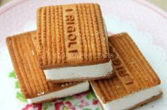Gelato biscotto senza gelatiera blog il mio saper fare